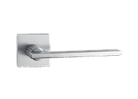 Дверная ручка на розетке MVM Z-1450 MOC (матовый старый хром)