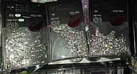 Камни Starlet Professional 1400 штук белые, размеры 2,3,4,5,6