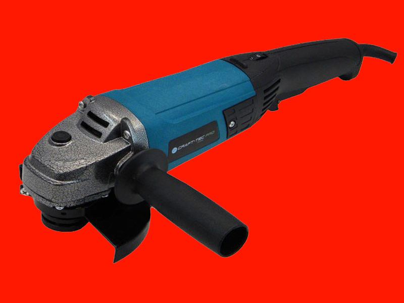 Болгарка на 125 мм с регулировкой оборотов Craft-tec CPAG125-1100PRO VS