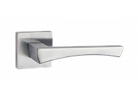 Дверная ручка на розетке MVM Z-1420 MC (матовый хром)