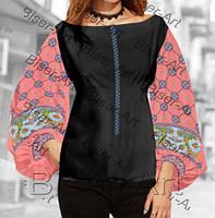 Заготовка для вишивки жіночої сорочки бохо В-72 на габардині 104229b0428c0