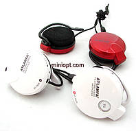 Наушники Atlanfa AT-7605. Черные, Белые. MP3, FM