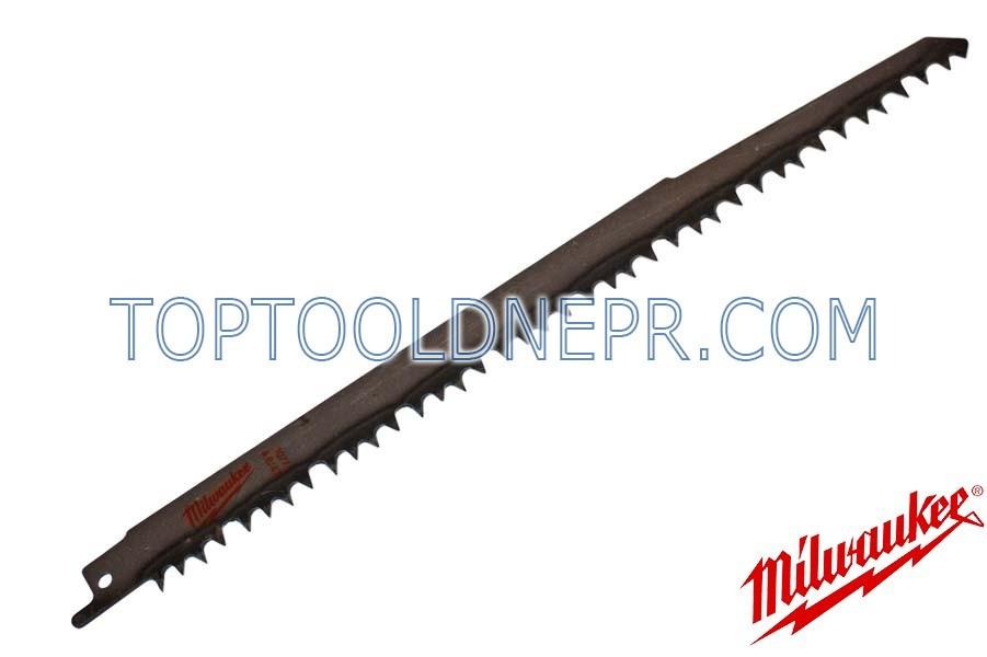Пильное полотно Milwaukee 240х5,5мм для робот по дереву/пластику 15-190/15-190мм, сталь, 1шт