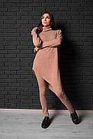 Женский костюм - ассиметричная туника и штаны, в расцветках