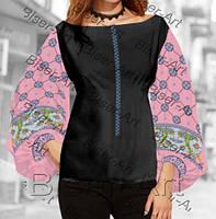 Заготовка для вишивки жіночої сорочки бохо В-72 на габардині 346bcfd8076be