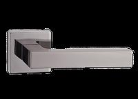 Дверная ручка на розетке MVM Z-1410 BN/SBN (черный никель/матовый черный никель)