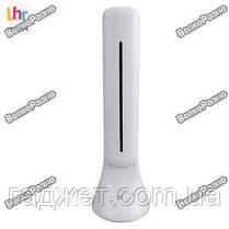 Сенсорная настольная складная аккумуляторная лампа из светодиодов Led Touch Lamp белого цвета, фото 3