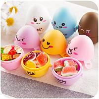 Контейнер для варки и хранения яиц Яйцо разных цветов