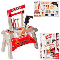 Игровой столик с инструментами с дрелью T106-2
