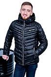 Чоловіча зимова куртка, чорного кольору., фото 2