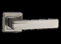 """Дверная ручка на розетке MVM """"QOOB"""" Z-1320 BN/SBN (черный никель/матовый черный никель)"""