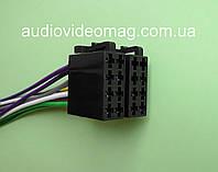Универсальный ISO адаптер (гнездо) для подключения автомагнитол