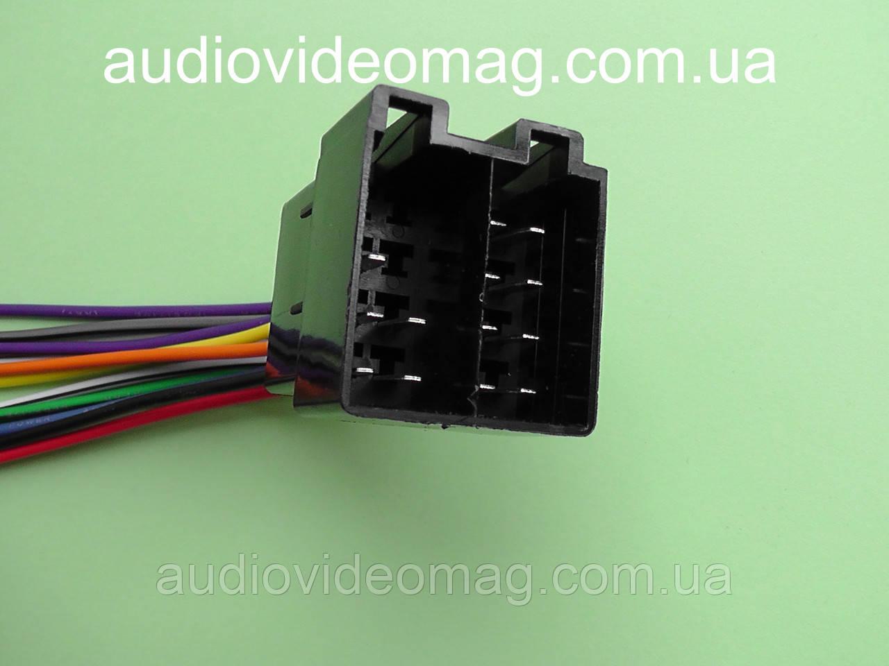Универсальный ISO адаптер (штекер) для подключения автомагнитол