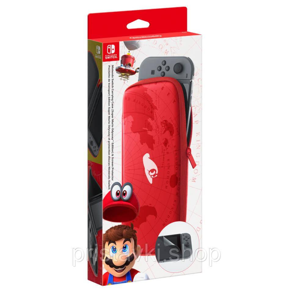 Carrying Case Mario Nintendo Switch чохол зплівкою