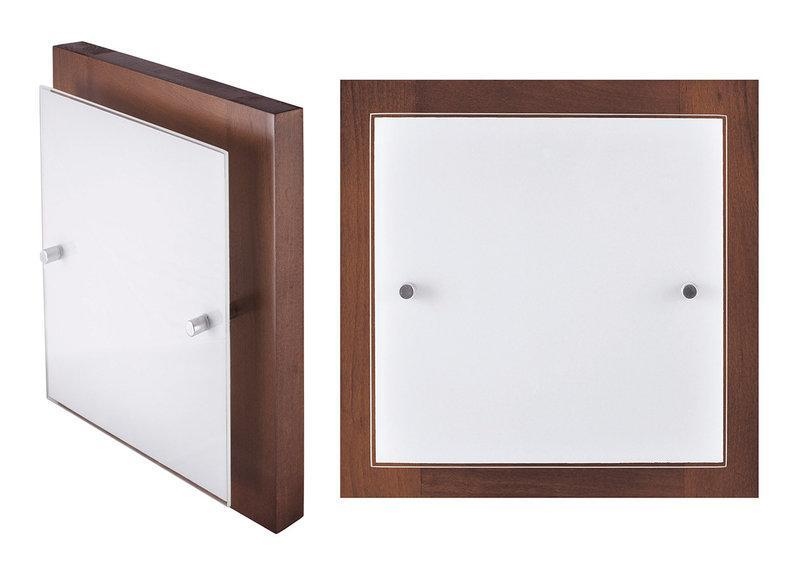 Светильник настенно-потолочный 28702 орех