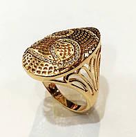Перстень женский Афина, размер 17, 18, 19 ювелирная бижутерия XP