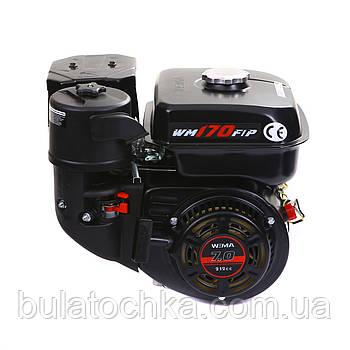 Двигун бензиновий WEIMA WM170F-Q NEW (вал під шпонку 19мм)