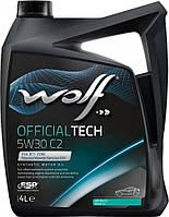 Wolf Олива моторна OFFICIALTECH 5W-30 C2 (4 л)