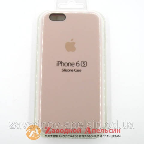 reputable site 53ae8 14053 IPhone 6 6s чехол Silicone Case Pink Sand