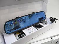 Зеркало заднего вида с видеорегистратором на 2 камеры 138W