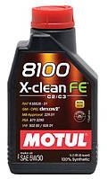 Motul Олива моторна 8100 X-clean FE 5W-30 (1 л)