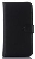 Кожаный чехол-книжка для Asus ZenFone 2 Laser ZE550KL ZE551KL черный