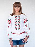 Классическая женская вышиванка больших размеров (XL, 3XL)