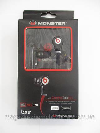 Monster Beats Tour MD-078 с микрофоном, фото 2