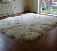 Килим з 8-х овечих шкур (довгошерстий)