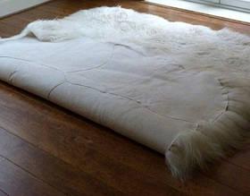 Килим з 8-х овечих шкур (довгошерстий), фото 2