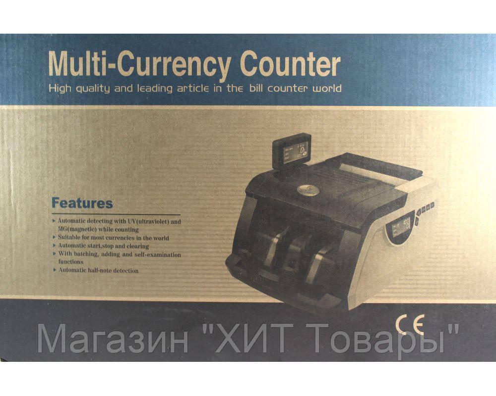 """Счетная машинка для денег с ультрафиолетовым детектором валют 6200 - Магазин """"ХИТ Товары"""" в Белой Церкви"""