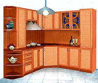 Кухни из ротанга в Киеве, кухонная мебель из Ротанга под заказ недорого, Киев, фото 1