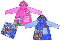 "Дождевик ""Человек-паук, Minnie Mouse"" CEL-32 (100шт) 2 вида, 2 размера (M,L), с капюшоном"