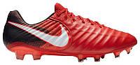 Кроссовки/Кеды (Оригинал) Nike Tiempo Legend VII FG University Red/White/Bright Crimson, фото 1