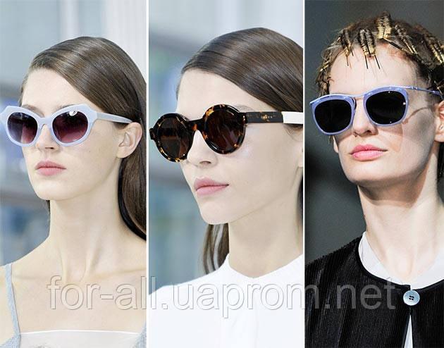 Солнцезащитные очки круглой формы 2014