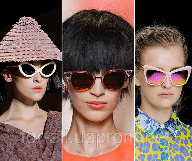 Солнцезащитные очки 2014 «кошачий глаз»