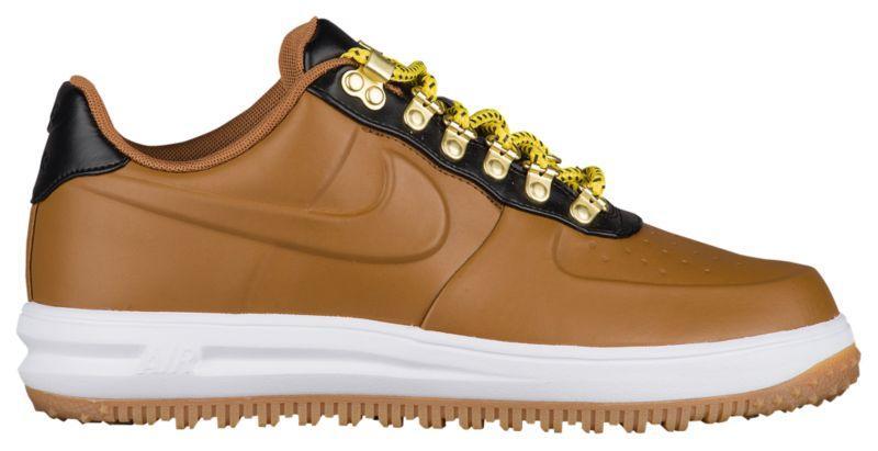 Ботинки Сапоги (Оригинал) Nike Lunar Force 1 Duckboot Low Ale Brown ... 6c37a781ae