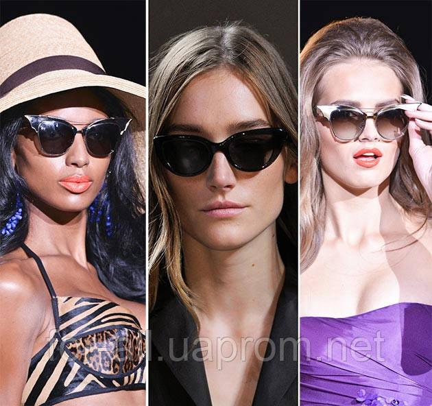 Солнцезащитные очки 2014 «кошачий глаз».