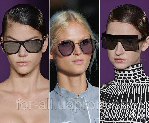 Солнцезащитные очки 2014 с острыми углами. Тренд № 3