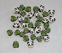 Бусина Панды-лягушечки 455 упаковка 30 шт