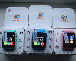 Детские умные часы+Smart watch влагозащита V7K, Bluetooth, камера, музыка, карта памяти!, фото 3