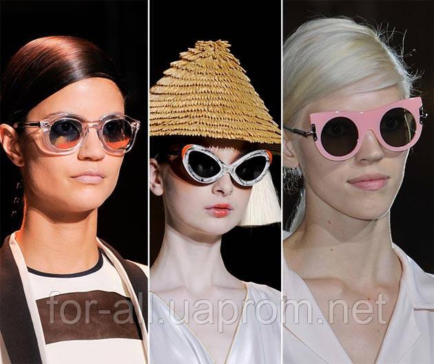 Контрастные солнцезащитные очки 2014. Тренд № 12
