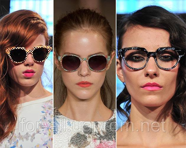 Солнцезащитные очки с принтами 2014. Тренд № 13