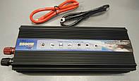 Преобразователь напряжения (инвертор) 12-220V TBE 2500W