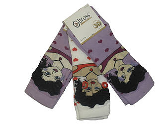 Носочки женские  3-D.
