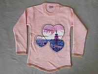 Детский свитер для девочек 4-9 лет Турция оптом