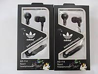 Наушники adidas AD-114 Sport с микрофоном