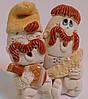 Два куми Статуэтка сувенир из глины