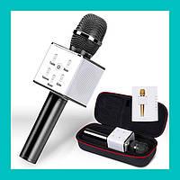 Микрофон для караоке DM Karaoke Q7-2!Акция