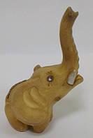 Слон с хоботом вверх сувенир статуэтка